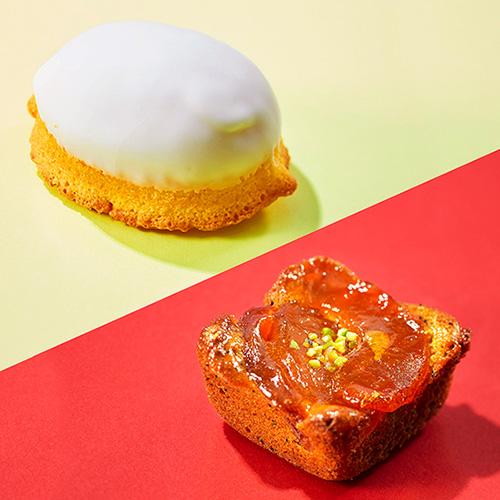 東京レモンパウンド&キャラメルりんご 4個セット