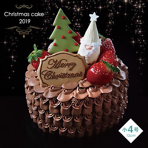 クリスマスケーキ(チョコレート)